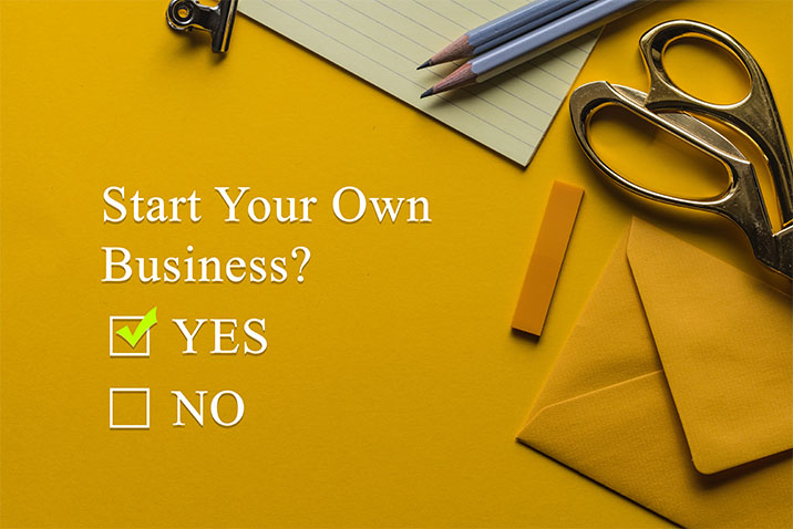 The reasons to start your own business